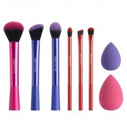 Profusion 8Pcs Professional Brush Vault