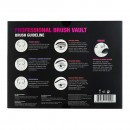 Profusion 8Pcs Professional Brush Vault