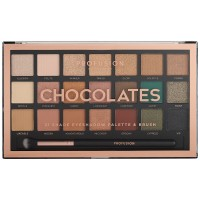 Profusion 21 Shade Eyeshadow Palette - Chocolates