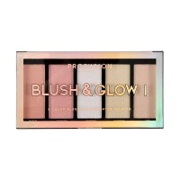 Profusion 5 Color Blush & Highlighter Palette - Blush & Glow I