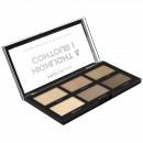 Profusion 6 Colour Highlight & Contour Palette - Highlight & Contour I