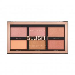Profusion 6 Shade Blush Palette - Blush I