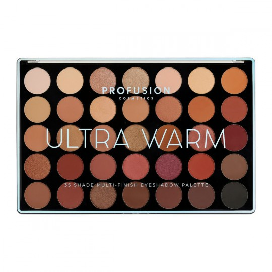 Profusion 35 Shade Multi-Finish Eyeshadow Palette - Ultra Warm