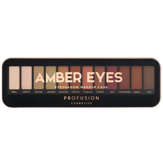 Profusion Eyeshadow Makeup Case - Amber Eyes