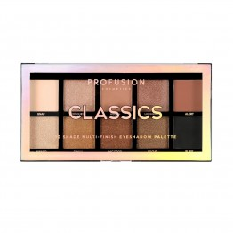 Profusion 10 Shade Multi-Finish Eyeshadow Palette - Classics