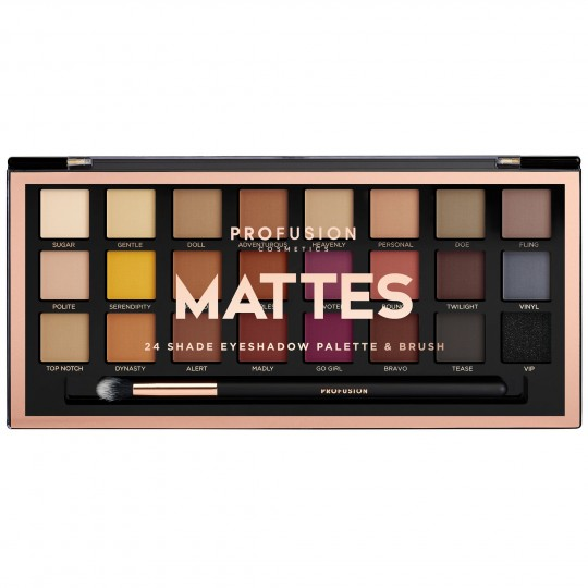 Profusion Artistry 24 Shade Eyeshadow Palette - Mattes