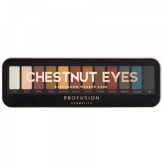 Profusion Eyeshadow Makeup Case - Chestnut Eyes