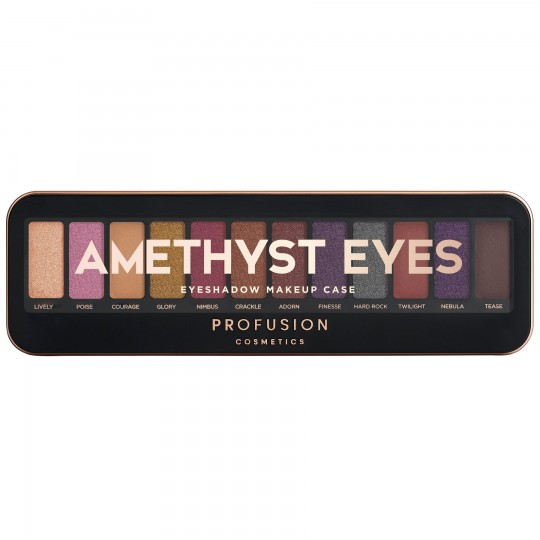 Profusion Eyeshadow Makeup Case - Amethyst Eyes