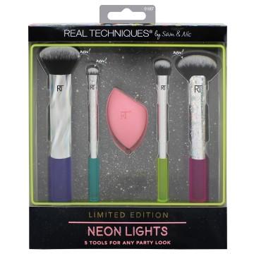 Real Techniques Neon Lights Brush Set