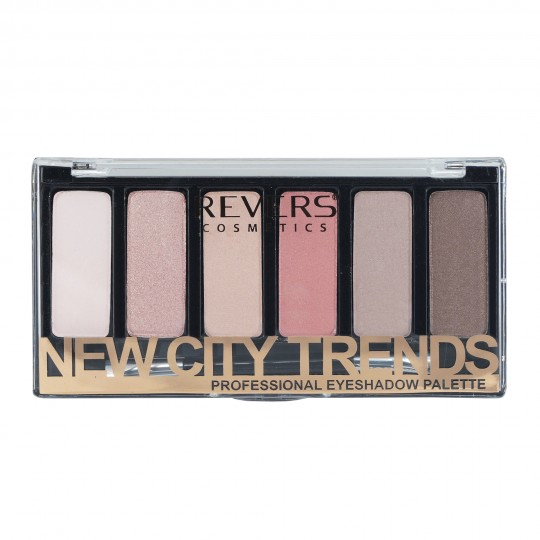 Revers New City Trends Professional Eyeshadow Palette - 01