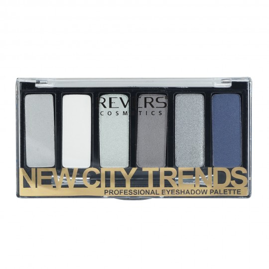 Revers New City Trends Professional Eyeshadow Palette - 04