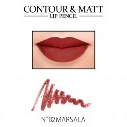 Revers Contour & Matt Lip Pencil - 02 Marsala