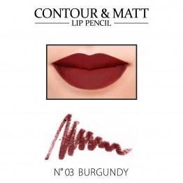 Revers Contour & Matt Lip Pencil - 03 Burgundy