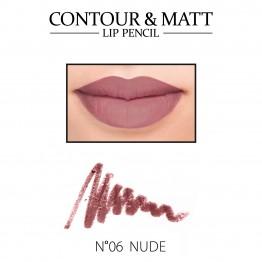 Revers Contour & Matt Lip Pencil - 06 Nude