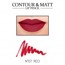 Revers Contour & Matt Lip Pencil - 07 Red