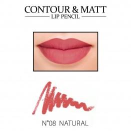 Revers Contour & Matt Lip Pencil - 08 Natural