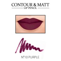 Revers Contour & Matt Lip Pencil - 10 Purple