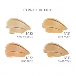 Revers Fix Mat Pro Lasting Finish Foundation - 30 Natural Beige
