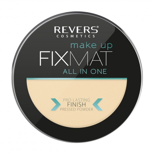 Revers FIX MAT Mattifying Pressed Powder - 02