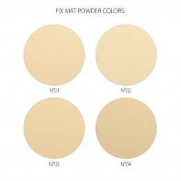 Revers FIX MAT Mattifying Pressed Powder - 02