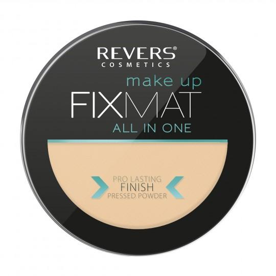Revers FIX MAT Mattifying Pressed Powder - 03