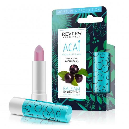 Revers Aroma Lip Balm - Acai Berry