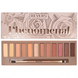 Revers Phenomenal 12 Colour Eyeshadow Palette - 02 Rose