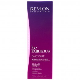 Revlon Be Fabulous Daily Care Cream Shampoo for Normal/Thick Hair (250ml)
