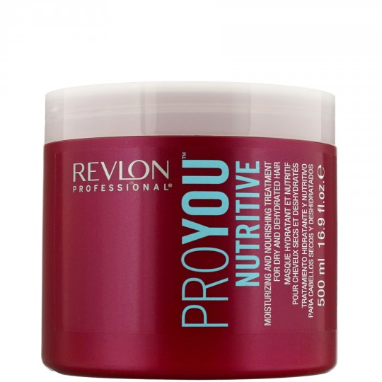 Revlon PRO YOU Care Nutritive Treatment Hair Mask for Dry Dehydrated Hair (500ml)