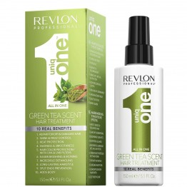 Revlon UniqOne Hair Treatment Spray Mask - Green Tea