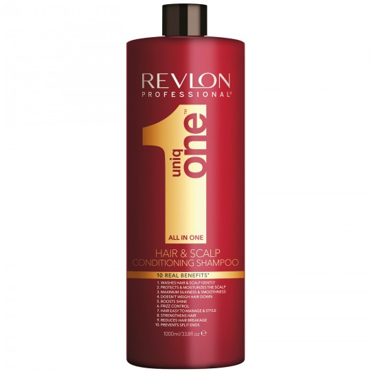 Revlon UniqOne Hair & Scalp Conditioning Shampoo (1000ml)