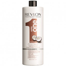 Revlon UniqOne Hair & Scalp Conditioning Shampoo - Coconut (1000ml)
