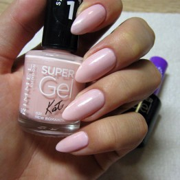 Rimmel Super Gel Nail Polish - 021 New Romantic