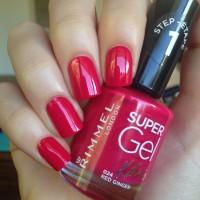 Rimmel Super Gel Nail Polish - 024 Red Ginger