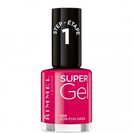 Rimmel Super Gel Nail Polish - 026 Sun Fun Daze