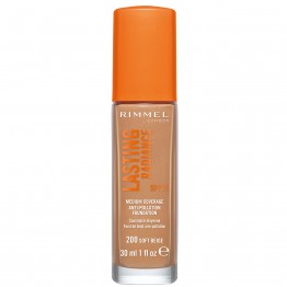 Rimmel Lasting Radiance Foundation - 200 Soft Beige
