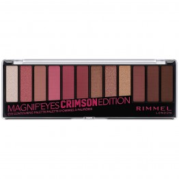 Rimmel Magnif'Eyes Eyeshadow Palette - 007 Crimson Edition