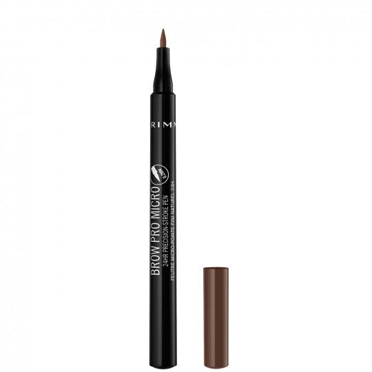 Rimmel Brow Pro Micro 24Hr Precision Stroke Pen - 003 Soft Brown