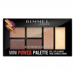 Rimmel Mini Power Eye Lip & Cheek Palette - 1 Fearless