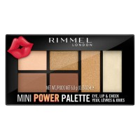 Rimmel Mini Power Eye Lip & Cheek Palette - 2 Sassy