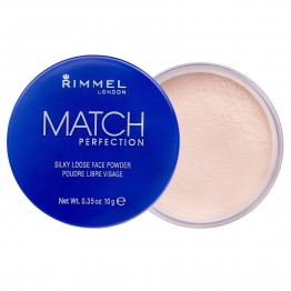 Rimmel Match Perfection Silky Loose Face Powder - 001 Transparent