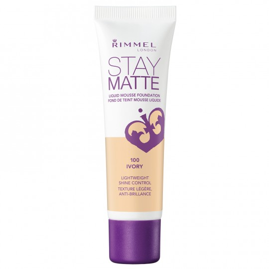 Rimmel Stay Matte Liquid Mousse Foundation - 100 Ivory