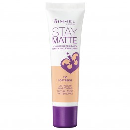 Rimmel Stay Matte Liquid Mousse Foundation - 200 Soft Beige