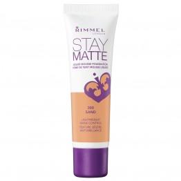 Rimmel Stay Matte Liquid Mousse Foundation - 300 Sand