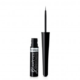 Rimmel Glam' Eyes Professional Liquid Eyeliner - 001 Black Glamour