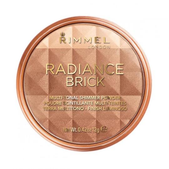 Rimmel Radiance Brick Bronze & Highlight - 001 Light
