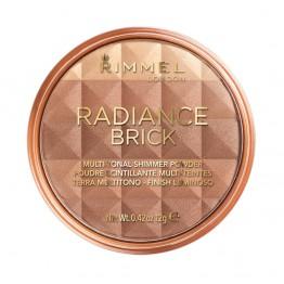 Rimmel Radiance Brick Bronze & Highlight - 002 Medium