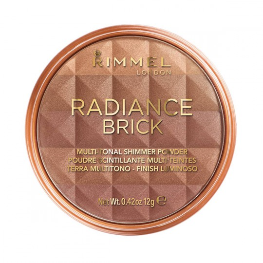 Rimmel Radiance Brick Bronze & Highlight - 003 Dark