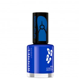 Rimmel 60 Seconds Flip Flop Nail Polish - 826 Cobalt Heaven
