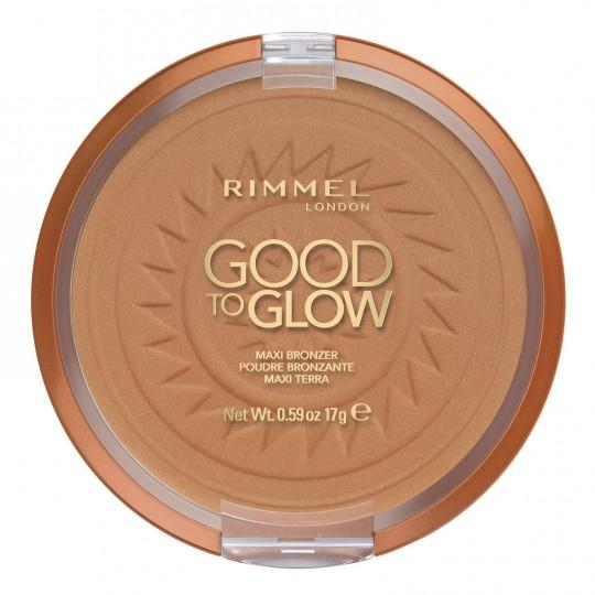 Rimmel Good to Glow Maxi Bronzer - 002 Amber